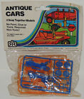 Vintage 1960s Snap Together ANTIQUE CARS Models 5  10 Store Classic MIP