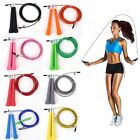 Speed Wire Skipping Adjustable Jump Rope Fitness Sport Exercise Cardio Crossfit image