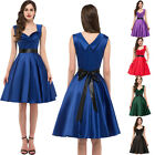 1950s 1960's Vintage Retro Dress Rockabilly Swing Pin up Evening TEA Party Dress