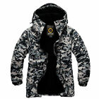 Southplay Mens Winte Militarylook Waterproof Ski-Snowboard Jacket BJ105