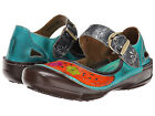SPRING STEP L'Artiste Womens Dexter Mary Jane Shoes Turquoise Leather DEXTER-TQM