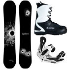 New 2016 System DNR Mens Snowboard Package +Summit Bindings+APX Boots.. Ride On