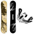 New 2016 Camp Seven Roots CRC Men's Snowboard + Summit Bindings Package