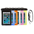 Waterproof IPX 8 Underwater Pouch Dry Bag Protector Skin Case Cover For iPhone 6