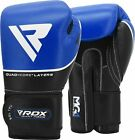 RDX Leather Gel Boxing Gloves Fight Punch Bag MMA Muay Thai Grappling Pad Kick C