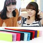 Wholesale Women Yoga Sports Sweatband Headband Elastic Soft Cotton Hair Band J51