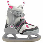 K2 Charm Adjustable Ice Skate Kids ICE (gray pink)