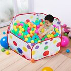 Kids Portable Pit Ball Pool Outdoor Indoor Baby Tent Play Hut Have Fun Foldable