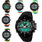Hot New Analogue Digital 5ATM Date Chronograph Mens Women Luxury SKMEI Watch