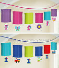 12ft First 1st Birthday Paper Lanterns Hanging Banner Party Decorations Age 1