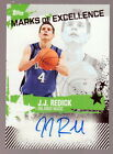 2006 Topps J.J. Redick Auto RC Marks of Excellence Autograph Duke Blue Devils