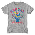 TAILGATE CLOTHING CO. KANSAS JAYHAWKS BASKETBALL VINTAGE T-SHIRT SMALL TO 3XL