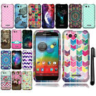 For Motorola Photon Q 4G LTE XT897 Design PATTERN HARD Case Phone Cover + Pen