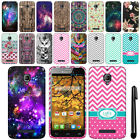 For Alcatel One Touch Fierce 7024W Cute Design TPU SILICONE Case Cover + Pen