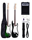 Full Size Electric Guitar +10 Watt AMP+Guitar Strap+Cord+Gig bag For Beginner