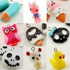 18 Kawaii Owl/Ice Cream/Skull Head/Pencil/Teddy/Dog/Rubber Duck Charm