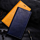 New Luxury Original Leather Flip Wallet Slim Case Cover For Samsung S6 &s6 edge