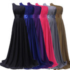 CHEAP!! Long Maxi Wedding Ball Gown Party Prom Bridesmaid Evening Cocktail Dress