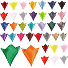 HIGH QUALITY PLAIN MENS WEDDING HANDKERCHIEF HANKY FOR WEDDING PAYTY