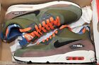 NIKE AIR MAX 90 Premium Sneakerboot LGN Green 616113-302 Sz's 8  9.5