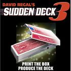 Sudden Deck 3 (+50 Jeux de Cartes Gratuits) Par David Regal Bike Tour de Magie