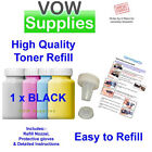 1x Easy Compatible Toner Refill kit for Brother HL3040CN, TN230 BLACK