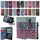 For LG G Stylo LS770 G4 Note Flip Wallet LEATHER POUCH Case Phone Cover + Pen