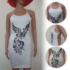 Newest Women Sleeveless Bandage Bodycon Evening Sexy Party Cocktail Mid Dress