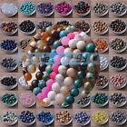4mm 6mm 8mm 10mm 12mm 14mm Natural Gemstone Round Loose Spacer Beads Wholesale