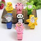 Kids Bendable Children 3D Cartoon Child Watch Animal Strap Watches Fun Xmas Gift