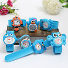 New Kids Bendable Children 3D Cartoon Child Watch Strap Watches Christmas Gift