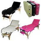 LIGHTWEIGHT FOLDABLE MASSAGE BED TABLE TATTOO THERAPY PORTABLE SALON COUCH REIKI