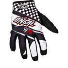 Oneal Jump Afterburner 2016 Motocross Gloves MX ATV Silicone Print Pre Curved