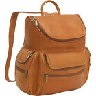 Le Donne Leather Computer Back Pack 3 Colors Laptop Backpack NEW