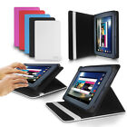 "LUXFOLIO STAND LEATHER CASE WALLET FOR NEW 2015 KINDLE FIRE 7"" DISPLAY TABLET"