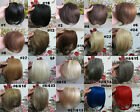 "New8"" Fashion Girls Clips on Front Neat Bang Fringe Hair Extensions 20g 22Colors"