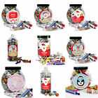 Personalised Christmas Sweets Chocolates Toffees Jars Xmas Gifts Secret Santa
