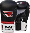 RDX Maya Hide Leather Boxing Gloves Fight Punch Glove Thai Grappling MMA Muay AU