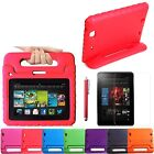 Kids Safe Shockproof Foam Case Stand for Kindle Fire + Screen Protector + Stylus