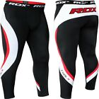 RDX Men's Sport Compression Pants Running Base Layer Tight Cycling Exercise MMA