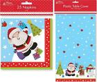 Christmas Xmas Party Table Ware Napkins Table Cover Cloth Kids Cute Design