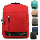 Fashion Women Men Vintage Canvas Travel Satchel Bag Backpack School Bag Rucksack