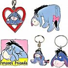 EEYORE Key Rings, Genuine Key Rings Choice of Designs