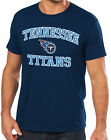 "Majestic NFL Tennessee Titans ""Heart And Soul III"" Mens T-shirt"