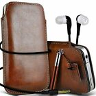 PU Leather Pull Tab Case Cover Pouch Gift Set For LG Nexus 4