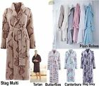 Bathrobe Dressing Gown House Coat Unisex Ladies Mens Gents - Catherine Lansfield