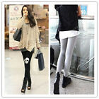 Fashion Womens Punk Skull Tight Pants Skeleton Leggings Stretch Cotton Slim