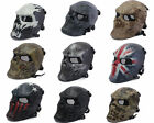 *Airsoft Metal Mesh Full Face Protection Skull Mask For Cosplay Outdoor War Game