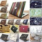 Marble / Matt Rubberized Hard Case Cover For MacBook Air Pro 11 13 15 '' +Retina