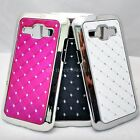 DIAMANTE BLING GLITTER BACK CASE COVER SKIN FOR SAMSUNG Galaxy J1 SM-J100